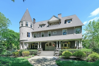 Montclair Twp. Single Family Home For Sale: 4 Duryea Rd