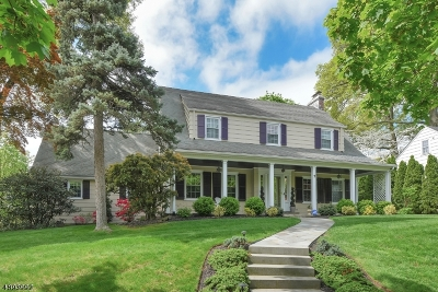 Montclair Twp. Single Family Home For Sale: 2 N. Brookwood Rd