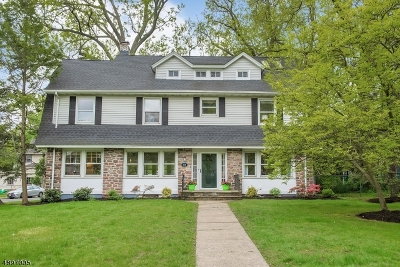 Montclair Twp. Single Family Home For Sale: 184 Fernwood Ave