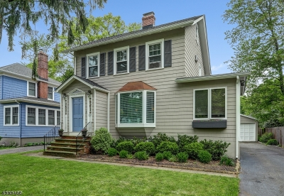 South Orange Village Twp. Single Family Home For Sale: 219 Audley St