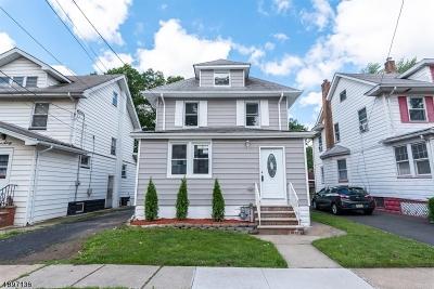ROSELLE PARK Single Family Home For Sale: 162 Dalton St