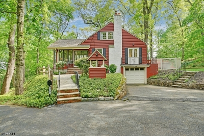 MOUNTAINSIDE Single Family Home For Sale: 379 Summit Rd