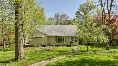 West Orange Twp. Single Family Home For Sale: 14 Oak Crest Rd
