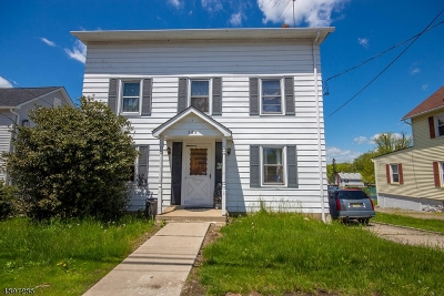 Roxbury Twp. Single Family Home For Sale: 288 Center Street
