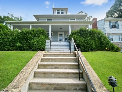 Boonton Town Single Family Home For Sale: 313 Hill St