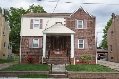Rahway City Multi Family Home For Sale: 1727 Park St