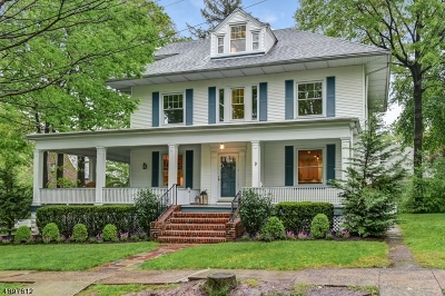 Maplewood Twp. Single Family Home For Sale: 9 Plymouth Ave