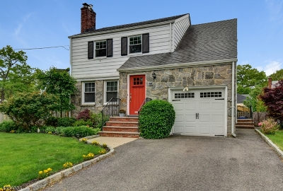 Cranford Twp. Single Family Home For Sale: 1 La Salle Ave