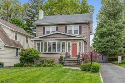 Millburn Twp. Single Family Home For Sale: 31 Undercliff Rd