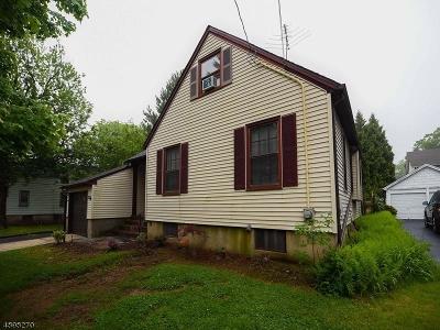 ROSELLE Single Family Home For Sale: 126 Gordon St