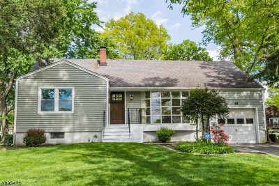 West Orange Twp. Single Family Home For Sale: 14 Beech Rd.