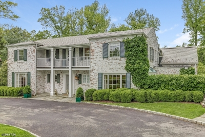 Millburn Twp. Single Family Home For Sale: 11 Lake Rd