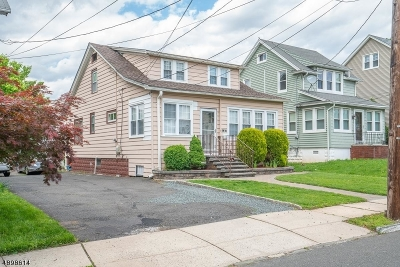 ELIZABETH Single Family Home For Sale: 833-835 Cleveland Ave