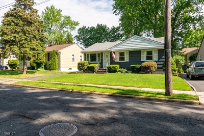 RAHWAY Single Family Home For Sale: 219 Concord St