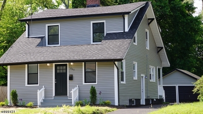 Plainfield City Single Family Home For Sale: 625-27 Huntington Ave