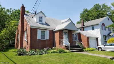 LINDEN Single Family Home For Sale: 1401 De Witt Ter