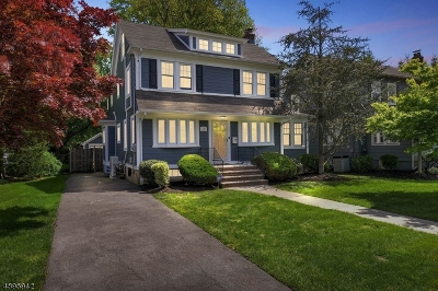 WESTFIELD Single Family Home For Sale: 720 Fairacres Ave