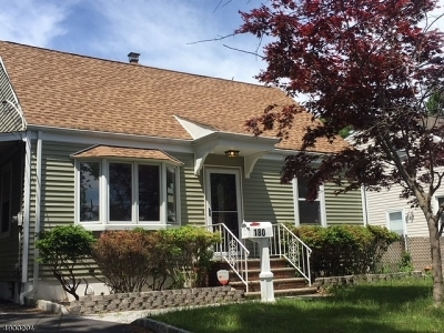 RAHWAY Single Family Home For Sale: 180 Tehama St