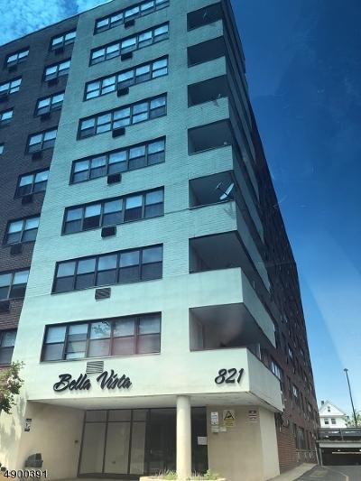 ELIZABETH Condo/Townhouse For Sale: 821-R Jersey Ave #8L