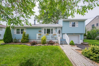 Parsippany-Troy Hills Twp. Single Family Home For Sale: 115 Elmwood Dr