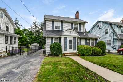 West Orange Twp. Single Family Home For Sale: 12 Oxford Ter