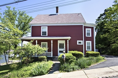 Morristown Town Single Family Home For Sale: 10 Cherry St