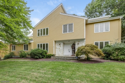 Florham Park Boro Single Family Home For Sale: 37 Woodbine Rd