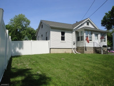 Rahway, Rahway City Single Family Home For Sale
