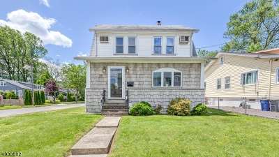 Cranford Twp. Single Family Home For Sale: 25 Mansion Ter