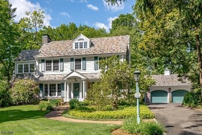 Millburn Twp. Single Family Home For Sale: 15 Birch Ln
