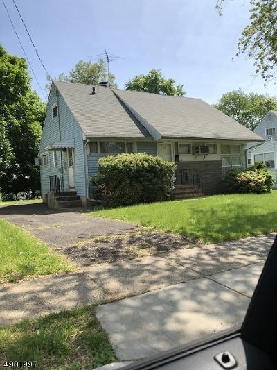 Roselle Boro Single Family Home For Sale: 719 Franklin Ter