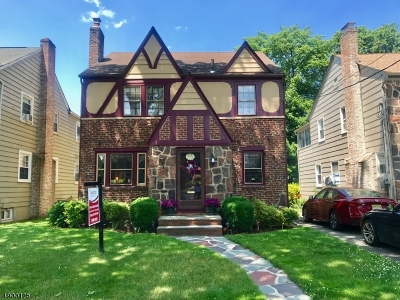 Nutley Twp. Single Family Home For Sale: 41 Oak St