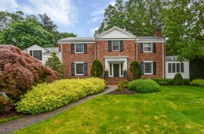 South Orange Village Twp. NJ Single Family Home For Sale: $972,000