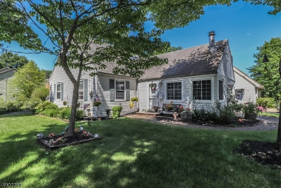 Cranford Twp. Single Family Home For Sale: 1012 Raritan Rd