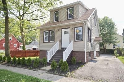 Roselle Boro Single Family Home For Sale: 528 Harrison Ave
