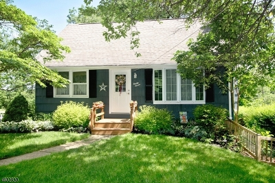 Roxbury Twp. Single Family Home For Sale: 27 Condict Rd