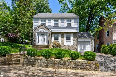 Nutley Twp. Single Family Home For Sale: 308 Chestnut St