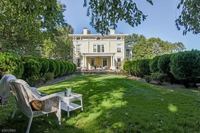 West Orange Twp. Single Family Home For Sale: 12 N Cobane Ter