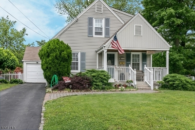 Cranford Twp. Single Family Home Active Under Contract: 33 Algonquin Dr