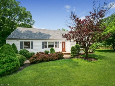 Livingston Twp. Single Family Home Active Under Contract: 298 Hillside Ave