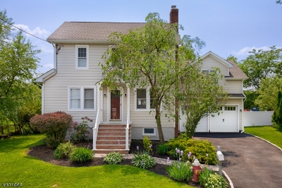 Florham Park Boro Single Family Home For Sale: 3 Florham Ave