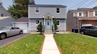 Rahway City Single Family Home For Sale: 637 W Lake Ave