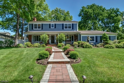Cranford Twp. Single Family Home For Sale: 1 Connecticut St