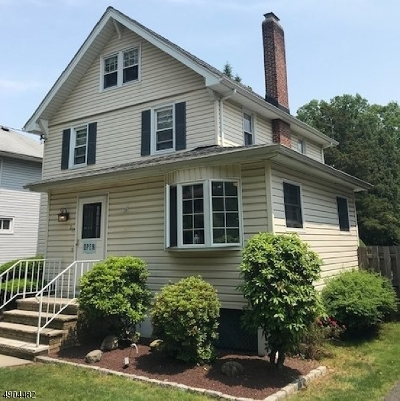 Cranford Twp. Single Family Home Active Under Contract: 217 Retford Ave