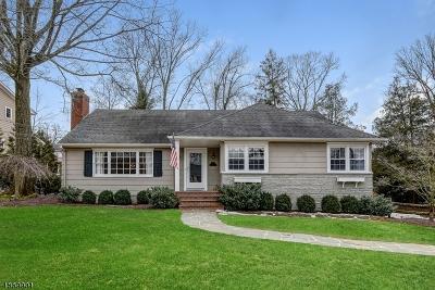 Millburn Twp. Single Family Home For Sale: 11 Wordsworth Rd