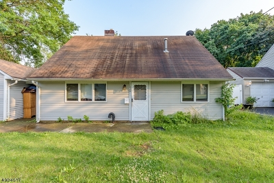 Rahway, Rahway City Single Family Home For Sale: 1020 Elm Ter