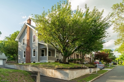 Nutley Twp. Single Family Home For Sale: 349 Prospect Street