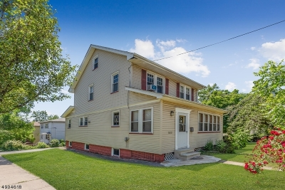 Maplewood Twp. Single Family Home For Sale: 324 Boyden Ave
