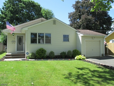 Rahway, Rahway City Single Family Home For Sale: 90 Rudolph Ave