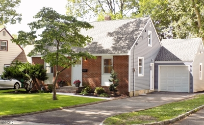 Scotch Plains Twp. Single Family Home For Sale: 384 Westfield Rd